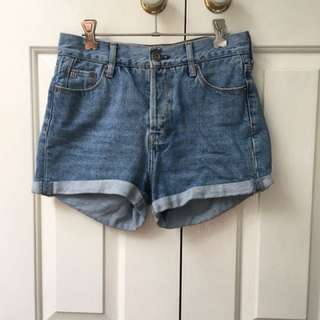River Island Highwaisted Denim Shorts