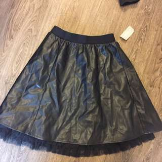 Faux leather skirt Size 2x