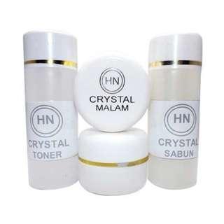 Cream HN Crystal Paket Lengkap