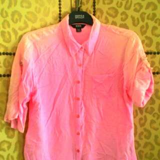 pink womens polo shirt