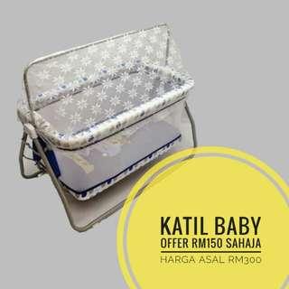 Baby Cradle (Katil Baby Berendoi)