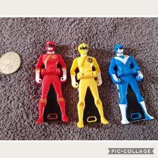 Take All Power Ranger Key5