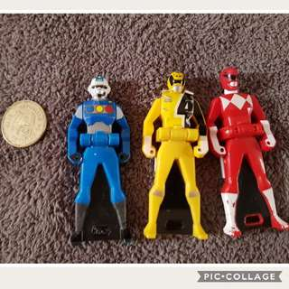 Take All Power Ranger Key7