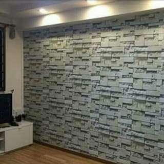 Diy 3D Wallpaper at Affordable Price!!!☺can cod👌☺