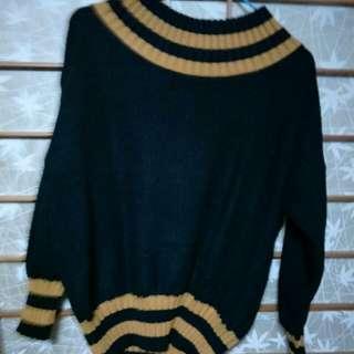 (現貨/售完下架)毛衣上衣~這件長55寬53_免運。
