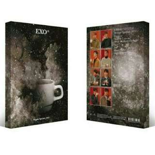 EXO WINTER ALBUM ( 2017) WITH POSTERS , PHOTOCARD, SPECIAL POSTCARD, PHOTOBOOK PREORDER FREE SHIPPING