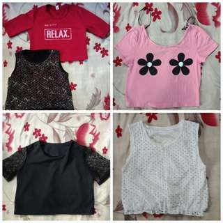 5 tops for 600 pesos all! :)