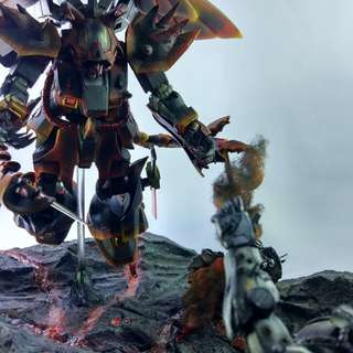 Diorama, customized mecha/gunpla