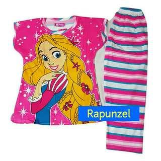 Rapunzel Pajama Terno