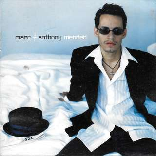 MY CD - MARC ANTHONY- MENDED  // FREE DELIVERY BY SINGPOST