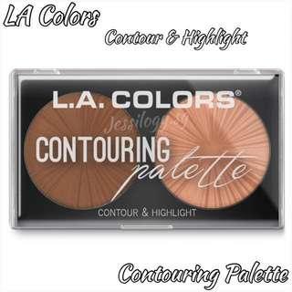 INSTOCK LA Colors Contour & Highlight Palette / L.A. Colours Contouring Palette