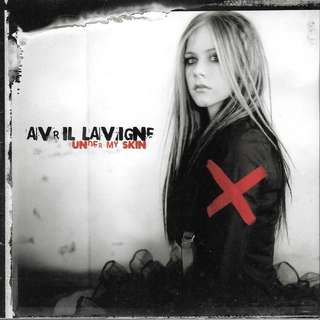 MY CD- AVRIL LAVIGN- UNDER MY SKIN // FREE DELIVERY BY SINGPOST