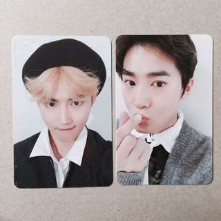 exo suho universe photocards
