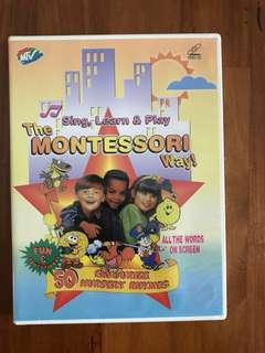 VCD Sing, Learn &Play with The Montessori Way