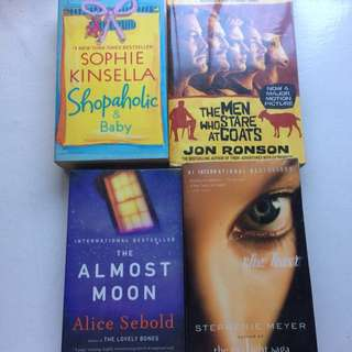 Book package: Kinsella, Sebold, Meyer, Ronson