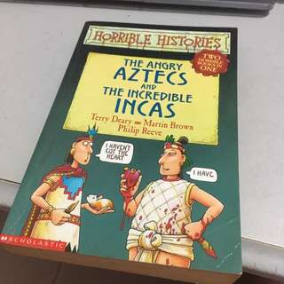 Horrible Histories: The Angry Aztecs and The Incredible Incas
