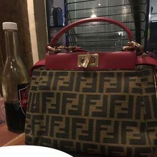 Sale!!!!Fendi two way bag authentic Quality
