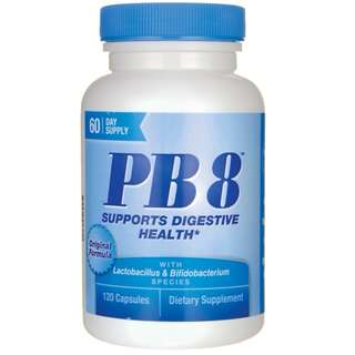 (USGMP) NTN010 Nutrition Now Pb8 Pro-Biotic Acidophilus 120粒 腸道益菌 整腸排毒