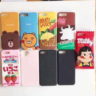 iPhone 7 Plus - assorted phone cases