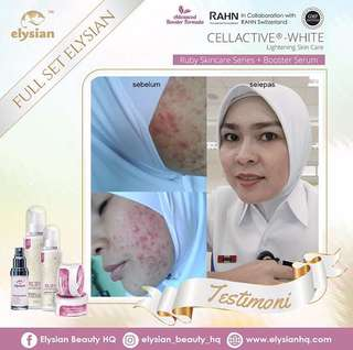 INSTOCK Ruby Skincare Series by Elysian