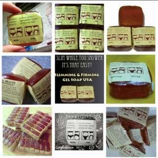 Unisex- slimming soap USA popular Thailand soap