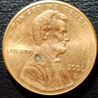 2006d lincoln cents
