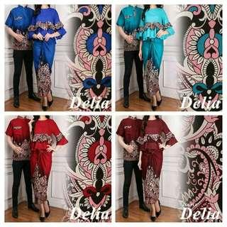 Setelan kebaya batik DELIA