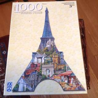 3D Eiffel Tower Puzzle