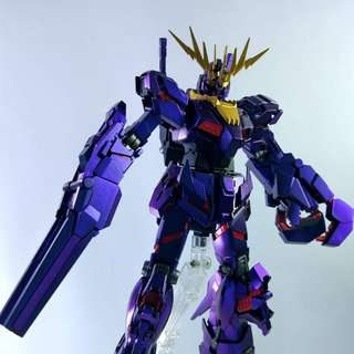 Custom painted Banshee Gundam