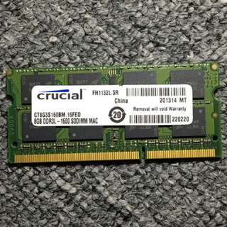 Laptop RAM 4GB 8GB DDR3 SODIMM