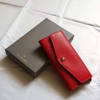 【新春大紅賀一賀佢】Mulberry 女裝銀包 鮮紅色 Valentine's Day gift women's wallet in scarlet red