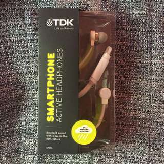 TDK Smartphone Active Headphones (White)