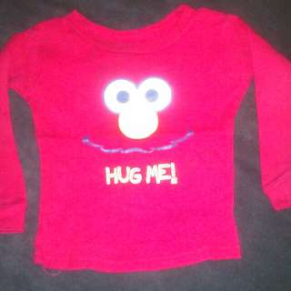 Elmo sleep top t-shirt