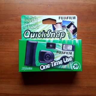 Fujifilm Quicksnap 35mm Disposable Camera #CNY88