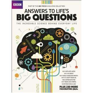 Ebook BBC Focus UK Answers to Lifes Big Questions 2017