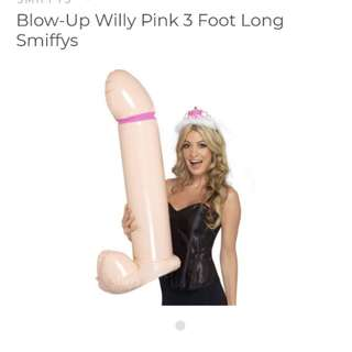 90cm inflatable willy
