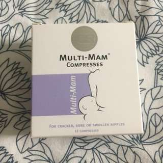 Effective nipple healing patch for breastfeeding mom