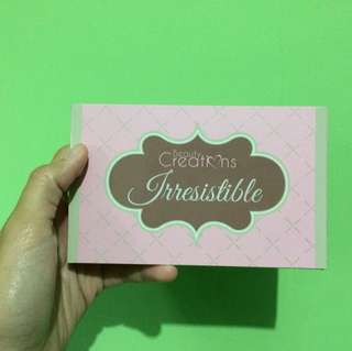 Beauty Creations Irresistible Pallete