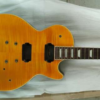 Les Paul shape guitar without hardwares ( pre orders )