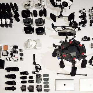 Drone equipment rental for your production