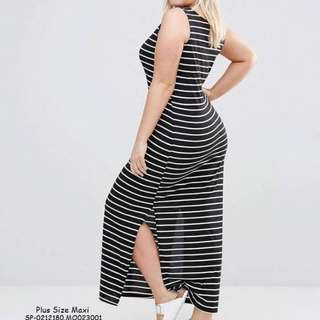 Plussize maxi dress fits upto 2XL