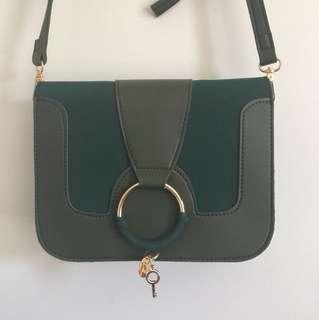 SALE: Green side bag