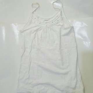 Old Navy white sleeveless