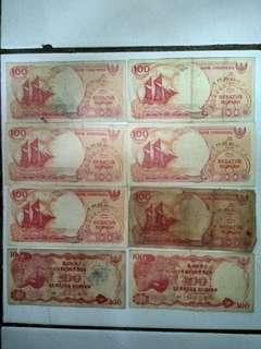 Uang lama Rp. 100 (nego sampai jadi)