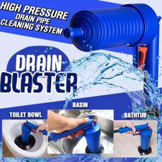 ★Drain Blaster ★ HIGH Pressure Drain Pipe Cleaning System.★Pressure Gun