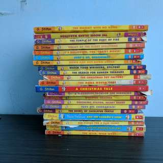 Pack of geronimo stilton book