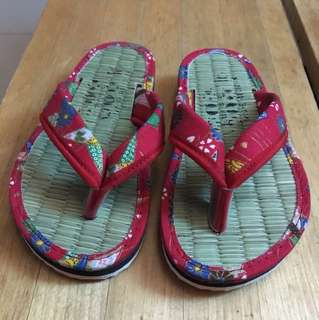 Slippers from japan