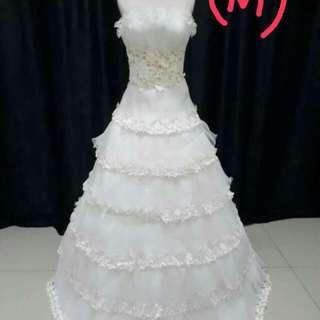 Bridal dress (size m)