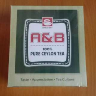 R & B 100% Pure Ceylon Tea  100 pieces    2018/03到期