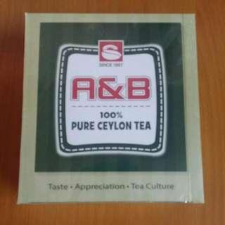 R & B 100% Pure Ceylon Tea  100 pieces    2018/03到期